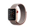 Apple Watch Series 3 Aluminiumgehäuse gold 38mm mit Sport Loop sandrosa (GPS + Cellular) Smartwatches verkaufen