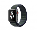 Apple Watch Series 3 Aluminiumgehäuse spacegrey 38mm mit Nike+ Sport Loop grau/blau (GPS + Cellular) Smartwatches verkaufen