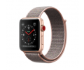 Apple Watch Series 3 Aluminiumgehäuse gold 42mm mit Sport Loop sandrosa (GPS + Cellular) Smartwatches verkaufen