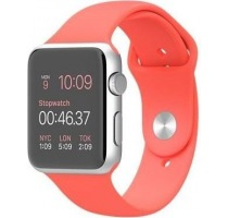 Apple Watch Sport 42mm mit Sportarmband orange Smartwatches verkaufen